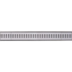 Plieger Royal Shower Drain Stainless Steel 685 x 86 x 30mm