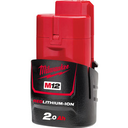 Milwaukee Milwaukee Li-ion accu 12V - 2,0Ah Li-ion - 40310 - van Toolstation