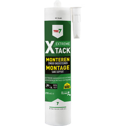 Tec7 Tec7 X-tack lijmkit Wit 290ml - 41330 - van Toolstation