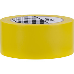 3M 764 Marking Tape Yellow 50mm x 33m