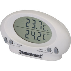 Indoor/Outdoor Thermometer -50 to 70 C