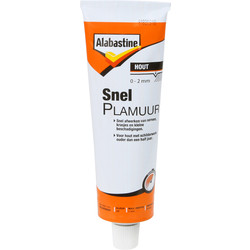 Alabastine Alabastine snelplamuur wit 125ml - 43999 - van Toolstation