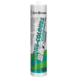 Zwaluw Zwaluw Colours NS siliconenkit antraciet 310ml - 45322 - van Toolstation