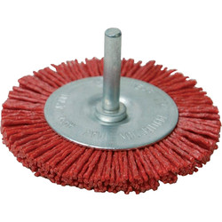 Nylon wire brush 75mm