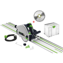 Festool Festool TS 55 REBQ-Plus Invalzaag machine 1400mm - 46995 - van Toolstation