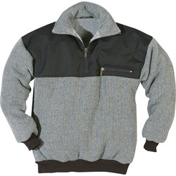 Fristads Fristads sweater 759 PH L grijs/zwart - 47015 - van Toolstation