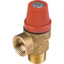 "Safety Valve 1/2 "" male thread"
