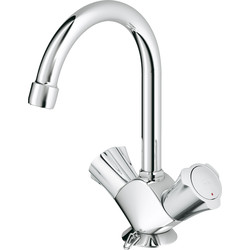 Grohe Grohe Costa wastafelkraan chroom - 48198 - van Toolstation
