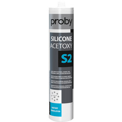 Proby Siliconenkit S2 transparant 280ml - 49036 - van Toolstation