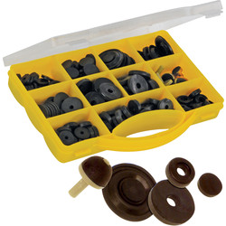Set kraanrubbers 140-delig - 49154 - van Toolstation
