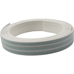 Ellen Draught Band white 7.5 m. K Profile 2-3mm