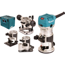 Makita RT0700CX3J freesmachine 6-8mm