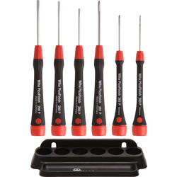 Wiha fine screwdriver set PicoFinish 6-part