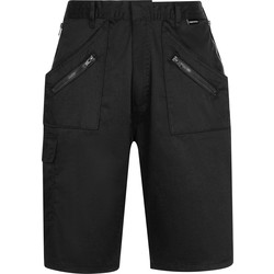 Portwest Portwest Action shorts XL zwart - 51878 - van Toolstation