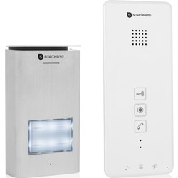 Smartwares Smartwares audio intercom systeem appartement Set - 51977 - van Toolstation