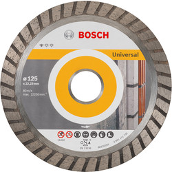 Bosch Bosch Standard for Universal Turbo diamantschijf universeel 125x22,2x2,0mm - 52491 - van Toolstation