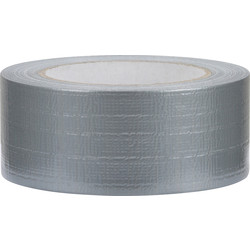 Duct tape hotmelt zilver 48mmx50m - 54356 - van Toolstation