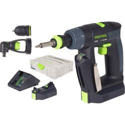 Festool CXS LI 2,6 set cordless power drill 10.8V Li-ion