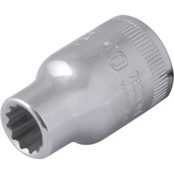 "Bahco Bahco dop 1/2"" 10mm - 55207 - van Toolstation"