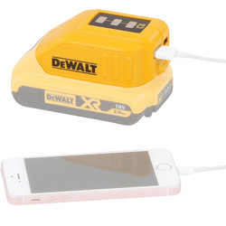 DeWALT DeWALT DCB090-XJ USB adapter 10,8V - 14,4V - 18V  Li-Ion - 56551 - van Toolstation