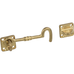 "Cabin Hooks 3 ""Polished Brass"