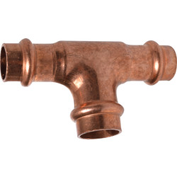 Copper Press T-piece 15 mm for V-conture