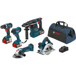 Bosch Bosch 18V 5 Toolkit 18V Li-ion - 60138 - van Toolstation