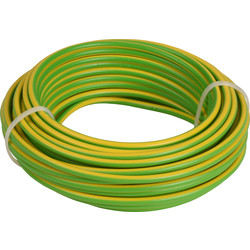 Installation Wire VD ? 2.5 Yellow / Green 10m
