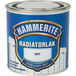 Hammerite radiatorlak 250ml wit