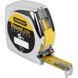 Stanley Power Lock Tape Measure 5m - 19mm