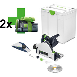 Festool TSC 55 Li REB-Basic accu invalzaagmachine 18V Li-ion