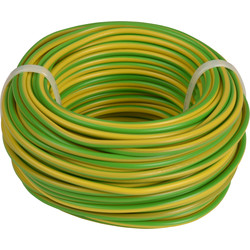 Installation Wire VD ? 2.5 Yellow / Green 20m