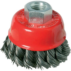 Wire cup brush 100 mm