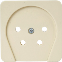Berker Central Plate Telephone Module 2 Pure White