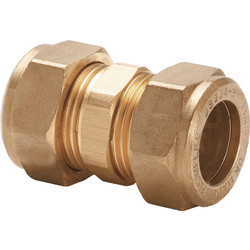 Flowflex Compression Straight Coupler 12  x 12