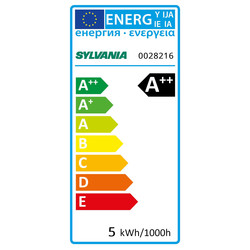 Sylvania ToLEDo LED lamp filament kogel E14