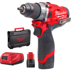 Milwaukee Milwaukee M12 FPD-202X accu schroefklopboormachine 12V  Li-ion - 69633 - van Toolstation