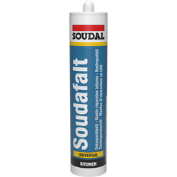 Soudal soudafalt kit Zwart 310ml
