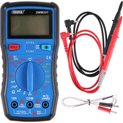 Draper Draper digitale multimeter  - 71139 - van Toolstation