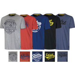 Stanley Fargo T-shirt set van 5 XL