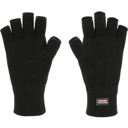 Portwest Insulatex? Fingerless Gloves Black Black