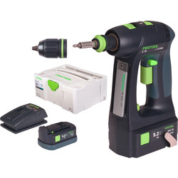 Festool Festool C 18 Li 5,2 Plus accu schroefboormachine 18V Li-ion - 74537 - van Toolstation