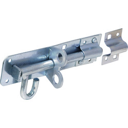 Latch for padlocks, galvanized 150 mm