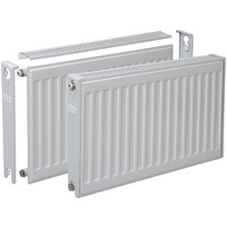Compact Single Radiator 400 x 600mm 387W