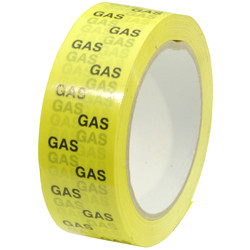 Gasleiding identificatie tape 38mm x 66m