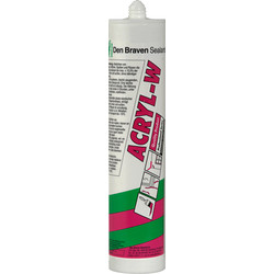 Zwaluw Zwaluw acrylaatkit-W Zwart 310ml - 77055 - van Toolstation