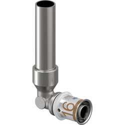 Uponor Uponor S-Press Plus pers kniekoppeling CU 15x16mm - 78247 - van Toolstation
