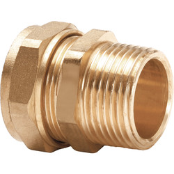 Flowflex Compression Coupler Male 12 x 3/8 ""