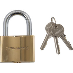 Brass padlock 60 mm