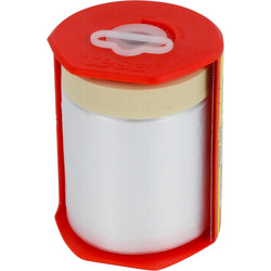 Tesa Tesa Easy Cover® folie masker met afplaktape in dispenser 550mmx33m - 81865 - van Toolstation